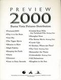 Buena Vista Pictures Distribution 2000 Summer Preview Media Press Kit (2000) KIT-02