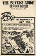 Comics Buyer's Guide (1971) 421