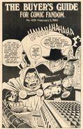 Comics Buyer's Guide (1971) 429