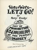 Vets & Wets - Let's Go! SC (1932) 1