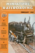Miniature Railroading Magazine (1938) Vol. 3 #8