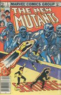 New Mutants (1983 1st Series) Canadian Price Variant 2