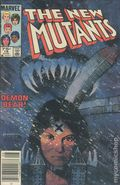 New Mutants (1983 1st Series) Canadian Price Variant 18
