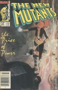 New Mutants (1983 1st Series) Canadian Price Variant 25
