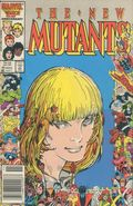 New Mutants (1983 1st Series) Canadian Price Variant 45