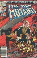 New Mutants (1983 1st Series) Canadian Price Variant 4