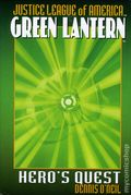 Justice League of America Green Lantern Hero's Quest HC (2005 Pocket Star Novel) 1-1ST