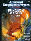 Advanced Dungeons and Dragons Dungeon Master Guide HC (1989 TSR/Wizards of the Coast) 2nd Edition 1A-REP