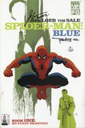 Spider-Man Blue (2002) 1DFSIGNED.A