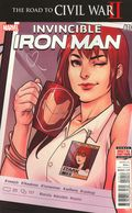Invincible Iron Man (2015 2nd Series) 10A