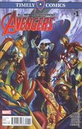 Timely Comics All New All Different Avengers (2016) 1