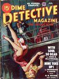 Dime Detective Magazine (1931-1953 Popular Publications) Pulp Mar 1948