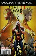 Civil War II Amazing Spider-Man (2016) 1A
