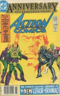 Action Comics (1938 DC) Canadian Price Variant 544