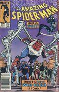 Amazing Spider-Man (1963 1st Series) Canadian Price Variant 263