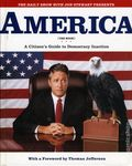 America (The Book) A Citizen's Guide to Democracy Inaction HC (2004 Warner Books) 1-REP