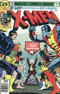 Uncanny X-Men (1963 1st Series) Mark Jewelers 100MJ