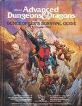 Advanced Dungeons and Dragons Dungeoneer 's Survival Guide HC (1986 TSR) 1-1ST