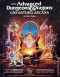 Advanced Dungeons and Dragons Unearthed Arcana HC (1985 TSR) 1-1ST