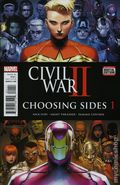 Civil War II Choosing Sides (2016) 1A