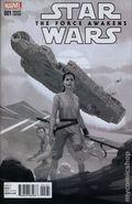 Star Wars The Force Awakens Adaptation (2016 Marvel) 1C