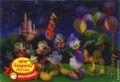 Disney Magnetic Post Card (2014-2016 Monogram) #24738