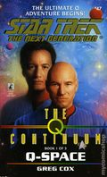 Star Trek The Next Generation The Q Continuum PB (1998 Pocket Novel) 47-1ST