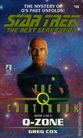 Star Trek The Next Generation The Q Continuum PB (1998 Pocket Novel) 48-1ST