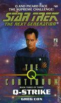 Star Trek The Next Generation The Q Continuum PB (1998 Pocket Novel) 49-1ST
