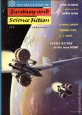Fantasy and Science Fiction (1949-Present Mercury Publications) Pulp Vol. 10 #2