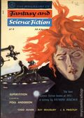 Fantasy and Science Fiction (1949-Present Mercury Publications) Pulp Vol. 10 #3