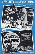 Die Monster Die! Planet of the Vampires Movie Pressbook (1965) 0