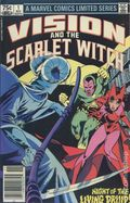 Vision and the Scarlet Witch (1982 1st Series) Canadian Price Variant 1