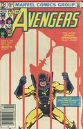Avengers (1963 1st Series) Canadian Price Variant 224
