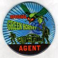 Green Hornet Agent Button (1966) ITEM-01