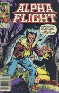 Alpha Flight (1983 1st Series) Canadian Price Variant 13