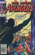Avengers (1963 1st Series) Canadian Price Variant 242