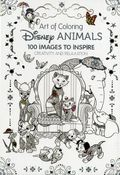Art of Coloring Disney Animals HC (2016 Disney Editions) 100 Images to Inspire Creativity and Relaxation 1-1ST