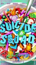 Suicide Squad Movie Poster (2016 DC) ITEM#2