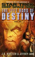Star Trek Deep Space Nine The Left Hand of Destiny PB (2003 Pocket Novel) 1-1ST