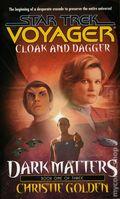 Star Trek Voyager Dark Matters PB (2000 Pocket Novel) 1-1ST