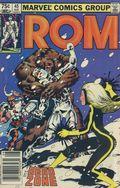Rom (1979-1986 Marvel) Canadian Price Variant 45