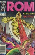 Rom (1979-1986 Marvel) Canadian Price Variant 51