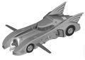 Batman Automobilia: The Definitive Collection of Batman Vehicles (2013- Eaglemoss) Figurine and Magazine #84
