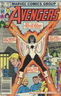 Avengers (1963 1st Series) Canadian Price Variant 227