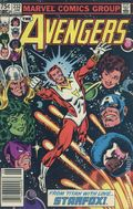 Avengers (1963 1st Series) Canadian Price Variant 232