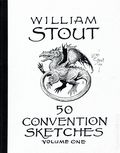 William Stout 50 Convention Sketches SC (1992 Terra Nova Press) 1-1ST