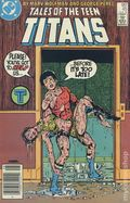 New Teen Titans (1980) (Tales of ...) Canadian Price Variant 45