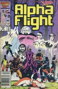 Alpha Flight (1983 1st Series) Canadian Price Variant 33