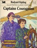 Illustrated Classic Editions: Captains Courageous PB (1983 Moby Books) By Rudyard Kipling 1-1ST